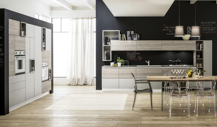 Cucina moderna / in legno - ORIENTE - Arrex