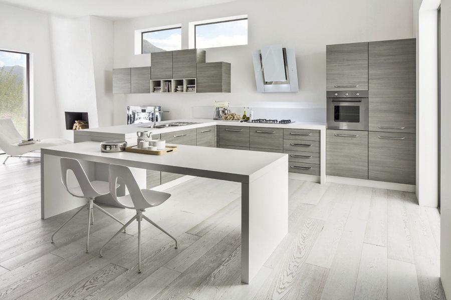Cucina moderna / in legno - CACAO NEW - Arrex