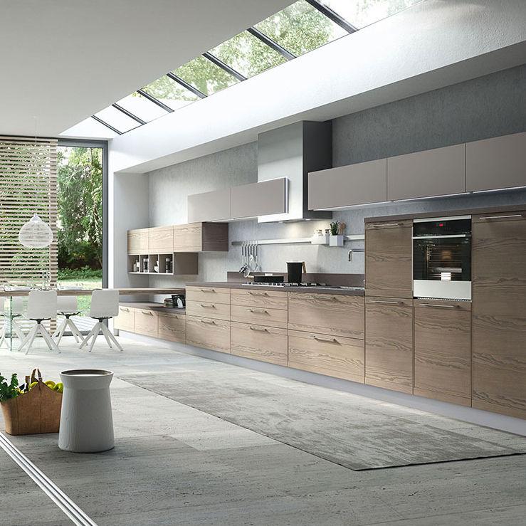 Cucina moderna / in legno / con impugnature - ZOE DESIGN: BRUGES ...
