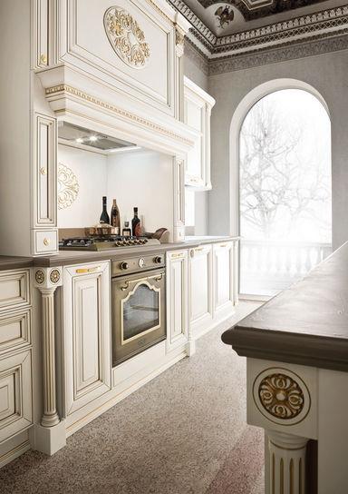 Cucina classica / in legno / con isola - GINEVRA: PADOVA - Ar-Tre
