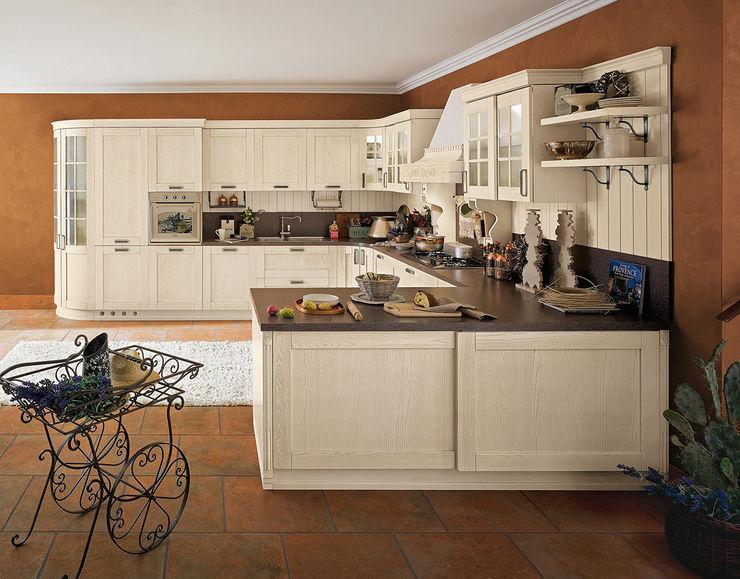 Cucina moderna / in legno / a U - SIGNORESSA - Ar-Tre