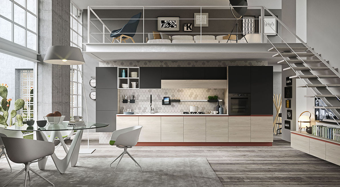 cucina moderna in legno navarra venezia ar tre