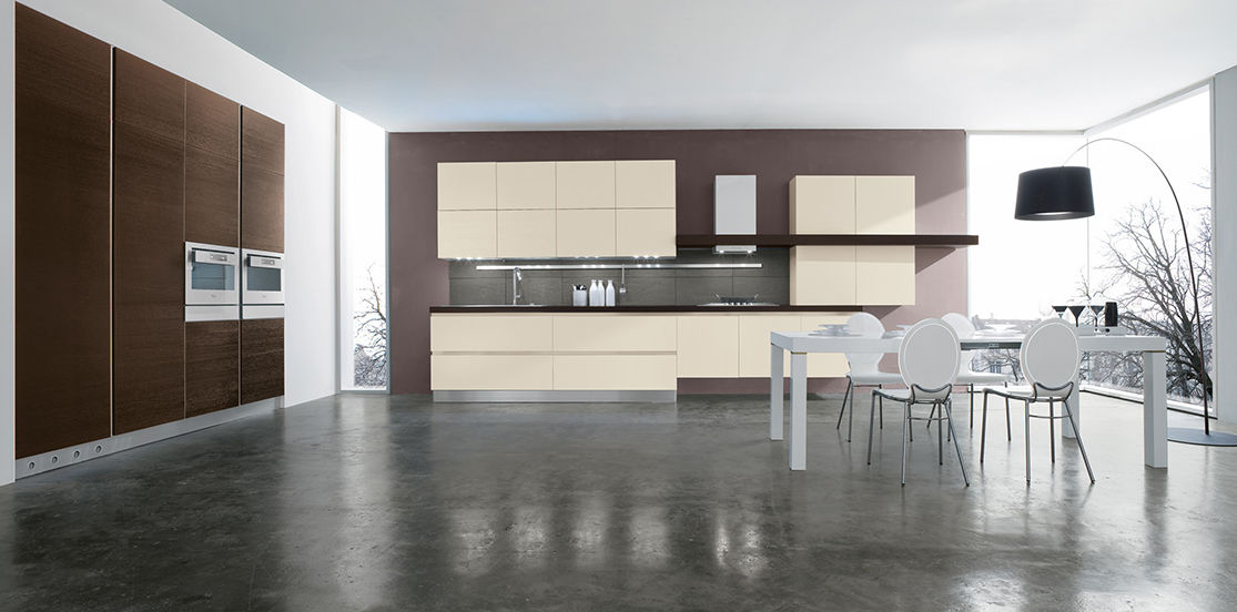 cucina moderna in weng in quercia laccata iride ar tre