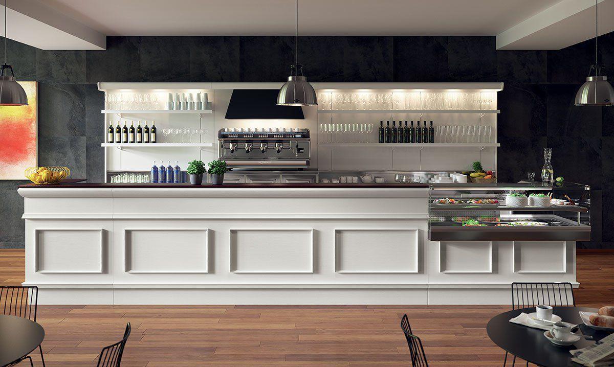 Bancone In Legno Per Negozio : Bancone da bar in legno a l trinidad 2015 frigomeccanica