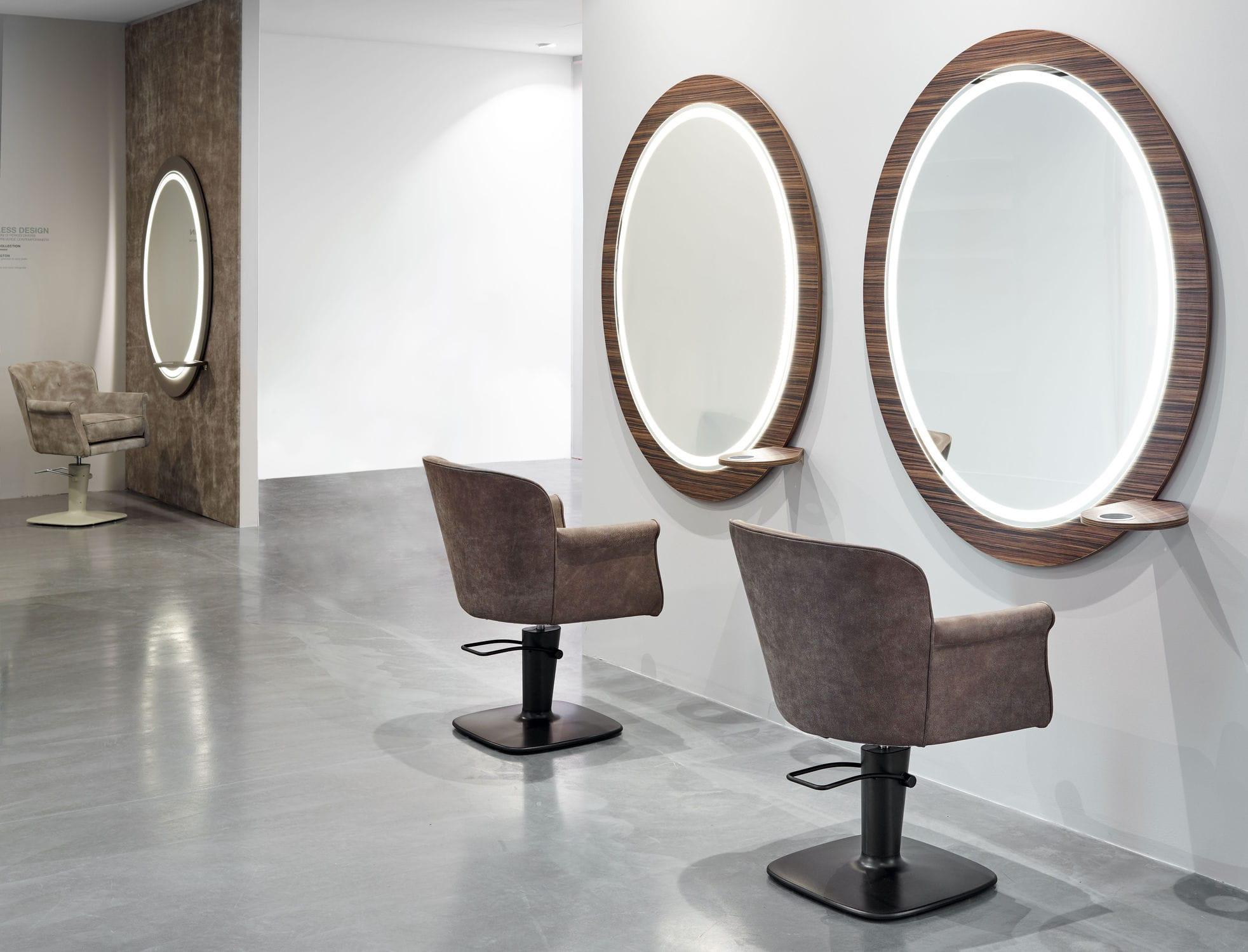 Mobile da toeletta moderno in legno da parete per