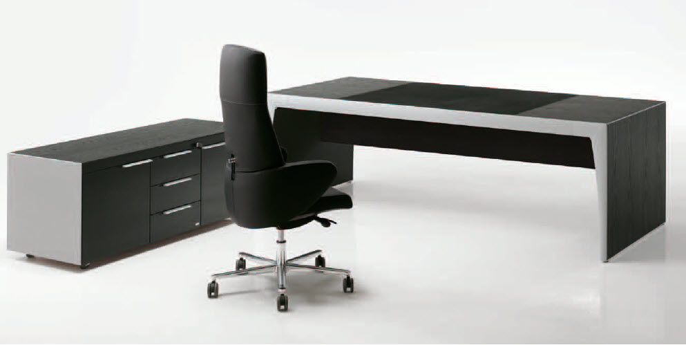 Scrivania Ufficio Nera : Scrivania ufficio nera v