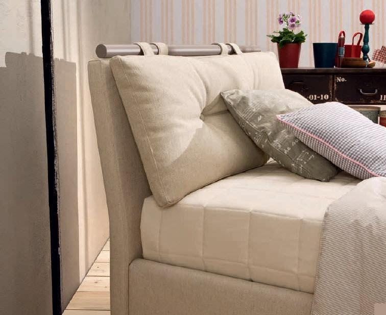 Copri testata letto imbottita latest cuscini letto ikea idee di