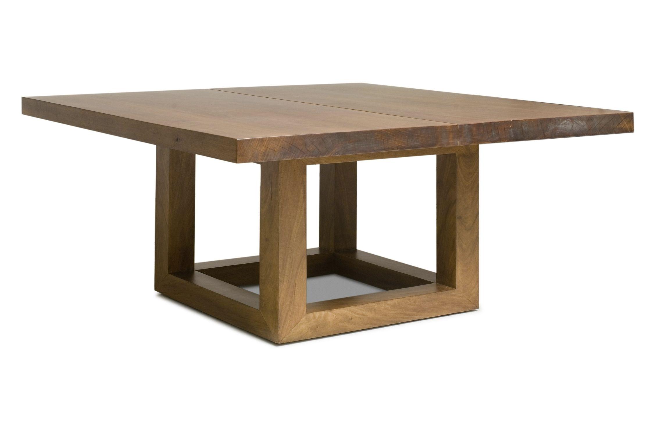 Tavolo moderno / in legno / quadrato / in materiale di recupero ...