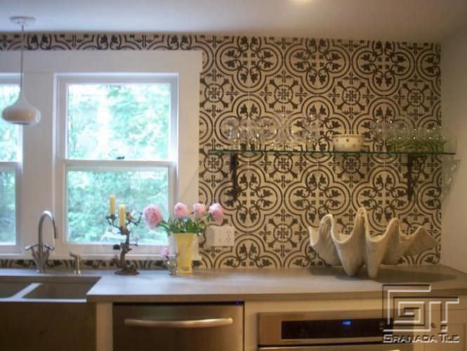 Piastrella da cucina / da interno / a muro / in cemento   cluny ...