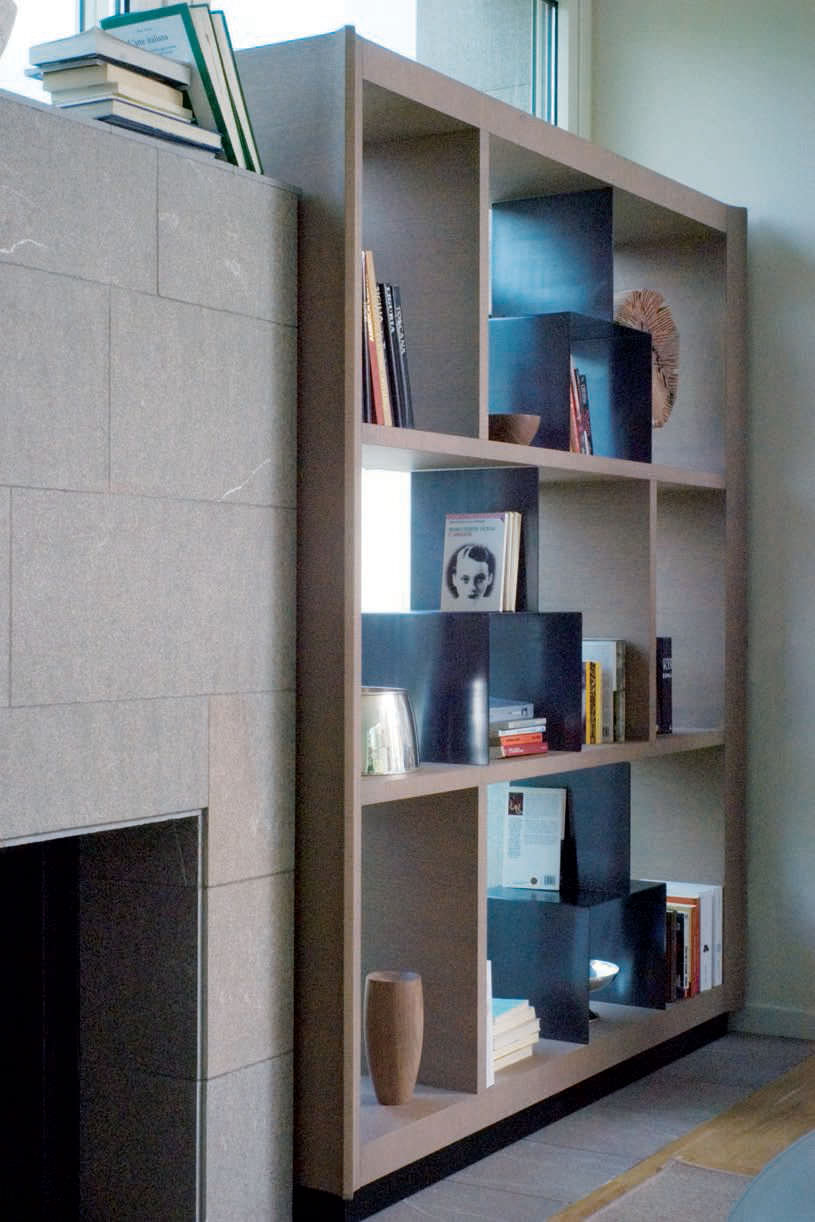 Libreria moderna / in legno   2402   ferri mobili