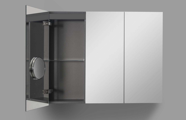 Mobile pensile per bagno con specchio - BOX - ARTELINEA