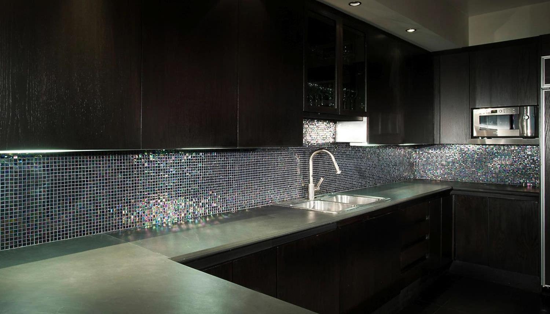 Mosaico da interno / da cucina / da parete / in vetro - MIAMI ...