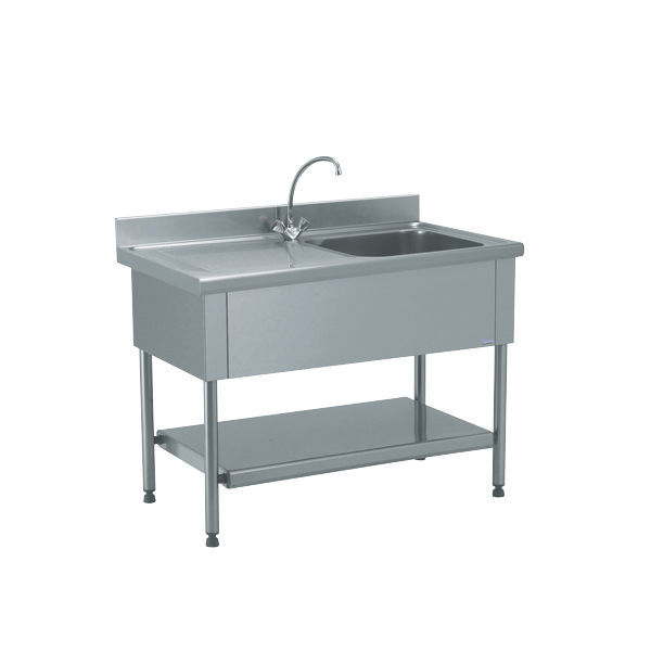 Mobile lavello su piedi / per cucina professionale - 816 661 - Tournus