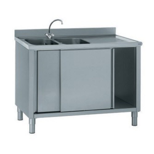 Mobile lavello su piedi / per cucina professionale - 806 794 - Tournus