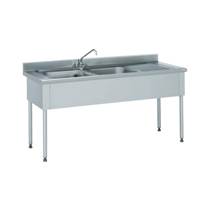 Mobile lavello su piedi / per cucina professionale - 816 664 - Tournus