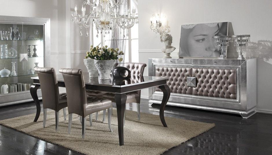 Super Tavolo design nuovo barocco / in legno / rettangolare - GLAM  GG61