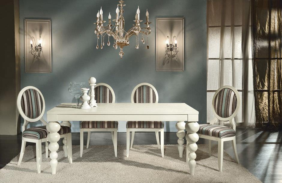 Popolare Tavolo da pranzo moderno / in legno / rettangolare - GLAM & CHIC  SV45