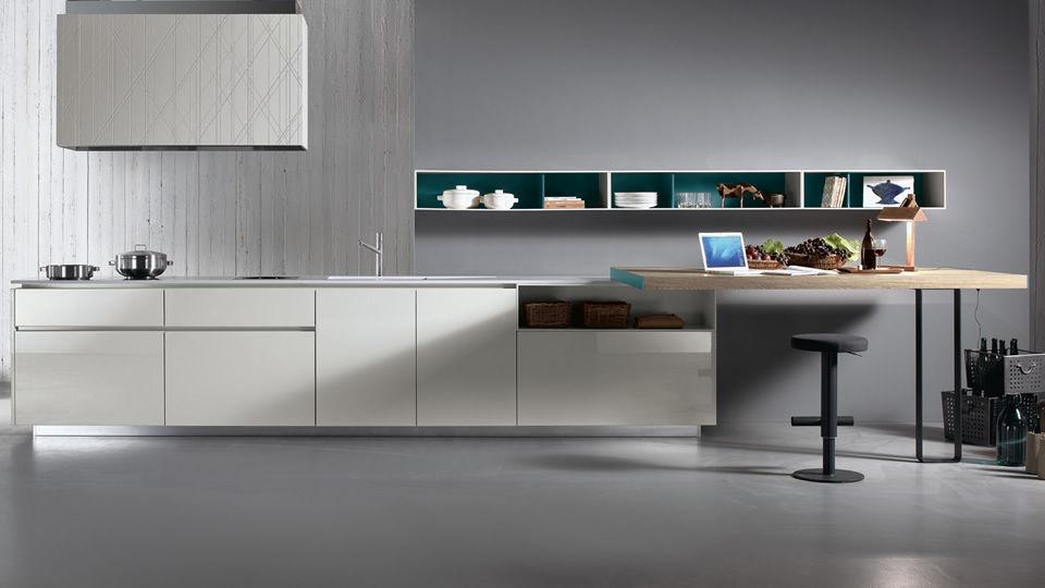 Cucina moderna / in acciaio inox / in laminato / in legno - HD23 by ...