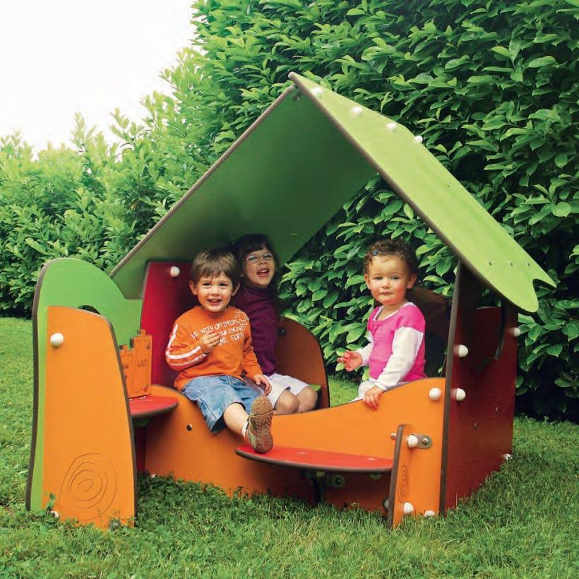 Casetta da gioco da giardino per esterni bibou ellen