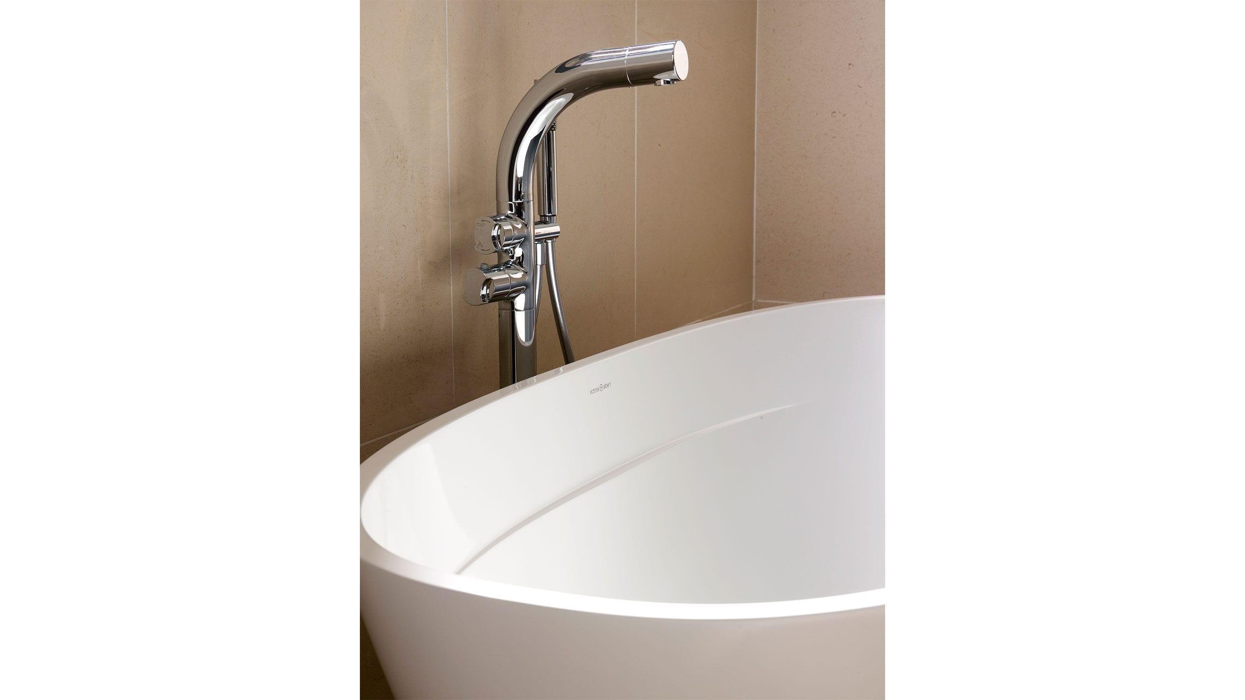 Vasca Da Bagno Sinonimo : Vasca da bagno ad isola ovale in resina in pietra calcarea