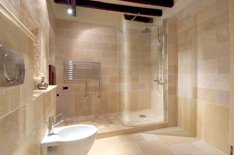 piastrella da bagno / da pavimento / da parete / in cemento - gold ... - Bagni In Pietra Moderni