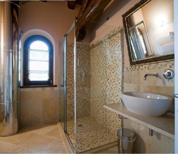 Piastrella da bagno / a muro / da pavimento / in pietra   gold ...