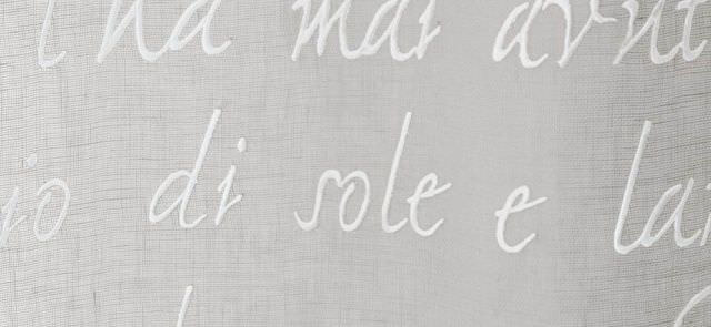 Tessuto per tende / a motivi / in lino - GANDHI - MASTRO RAPHAËL