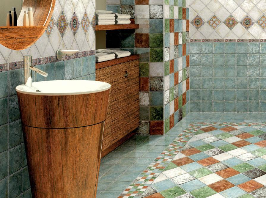 Pavimento In Piastrelle Di Ceramica Smaltata : Piastrella da bagno da pavimento in gres porcellanato