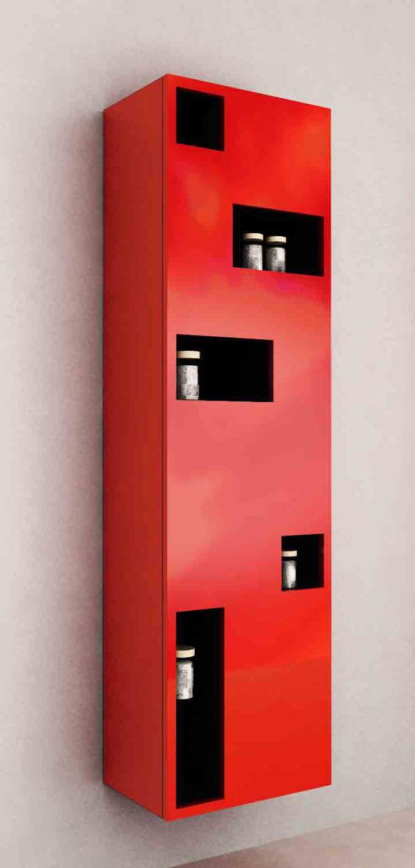 mobile colonna da bagno moderno pensile ba gno modtetrix bathroom cabinet mod tetrix