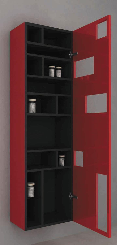Mobile colonna da bagno / moderno - MOD. TETRIX COLONNA PER BAGNO ...