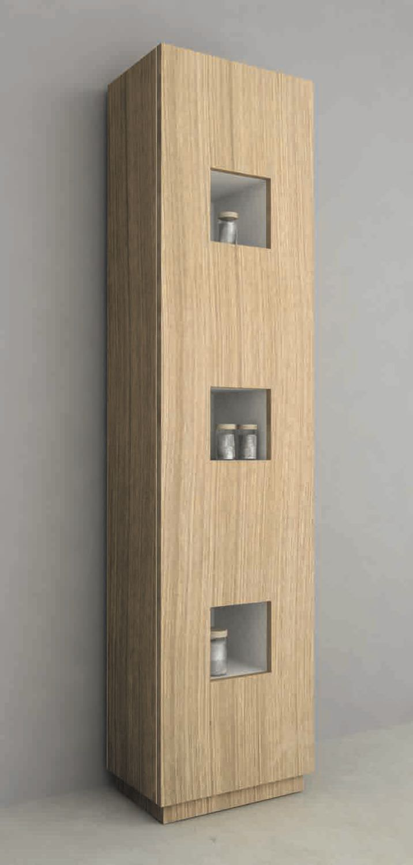 mobile colonna da bagno / moderno - mod. cube colonna per bagno ... - Mobili A Colonna Da Bagno