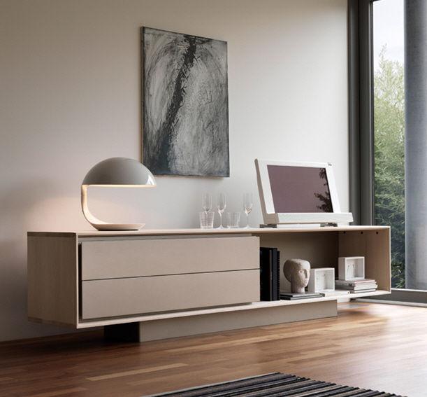 credenza moderna / in legno / con ripiano - x2 - mobimex - Mobili Tv Bassi Moderni