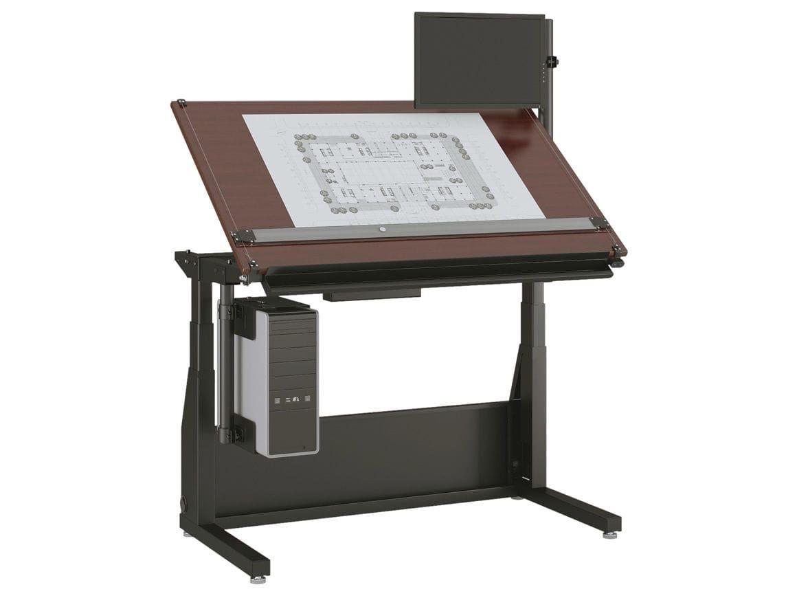 Scrivania Da Disegno : Tavolo da disegno moderno in legno in laminato rettangolare