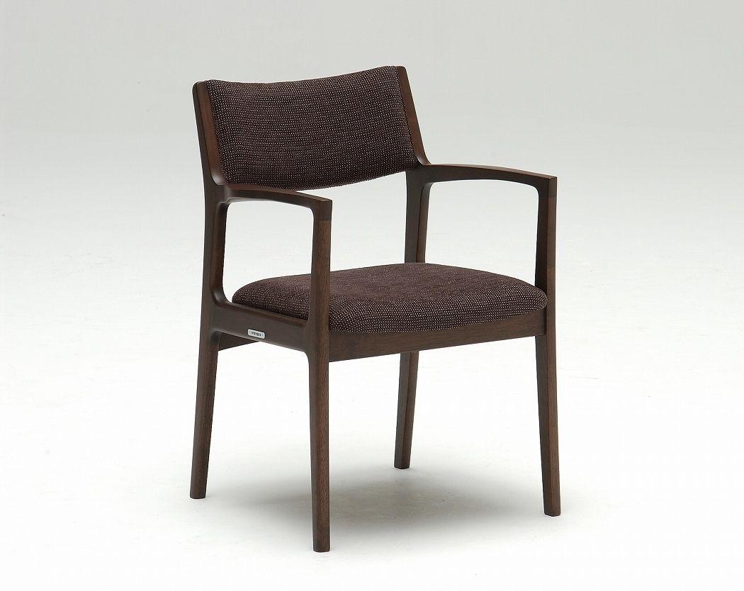 Sedie In Legno Con Braccioli : Sedia classica imbottita con braccioli in legno karimoku