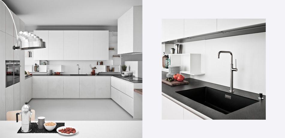Cucina moderna / in legno / laccata / opaca - LINE K - Zampieri Cucine
