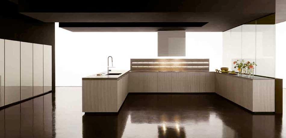 cucina moderna in laminato glass zampieri cucine