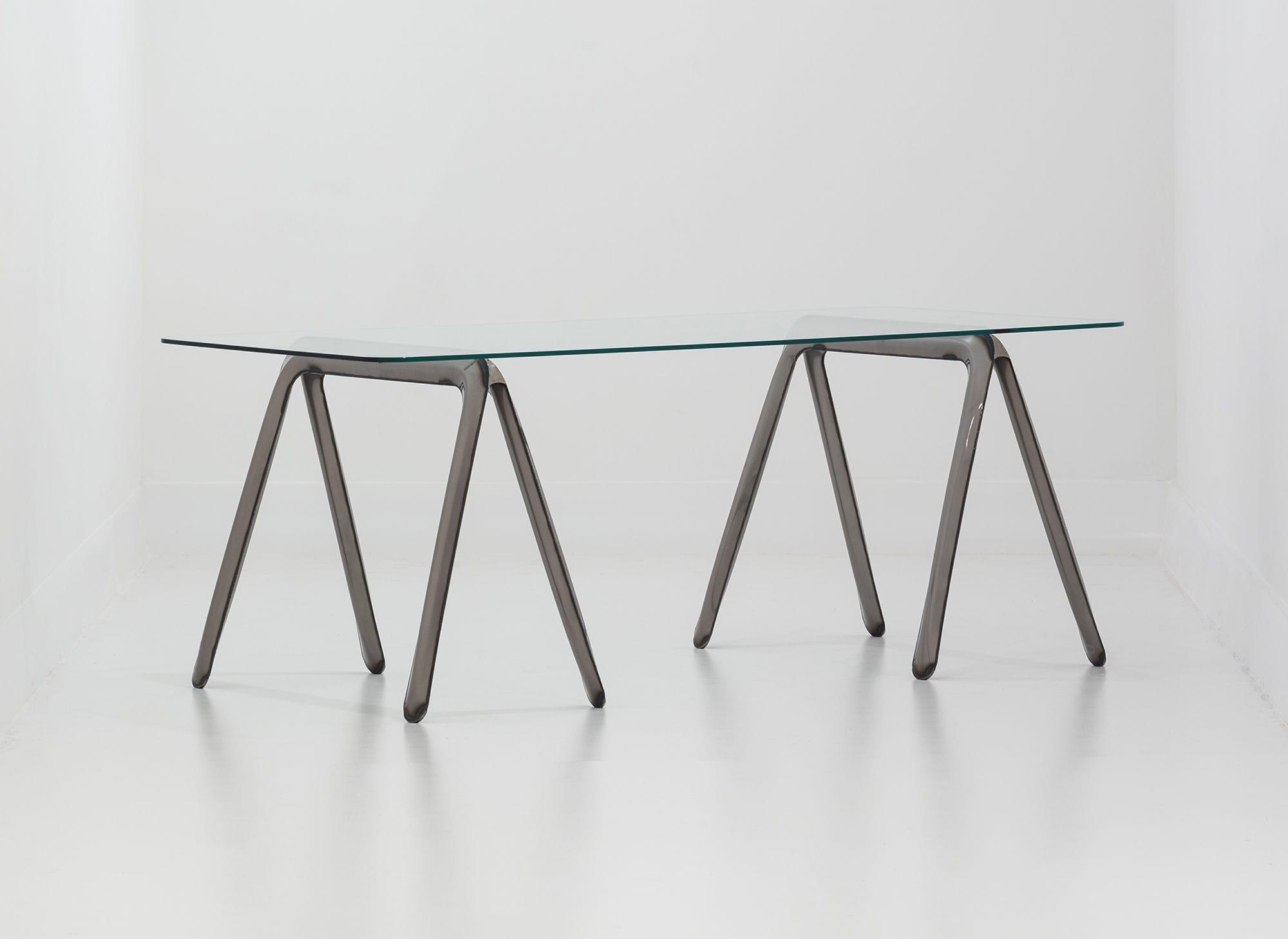 Cavalletto per tavoli in acciaio - KOZA - ZIETA - Video