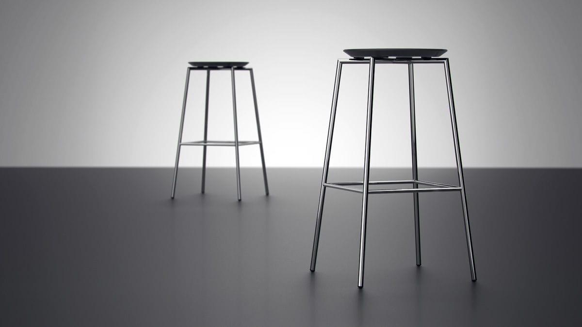 Sgabello da bar moderno pure by thore lassen design randers