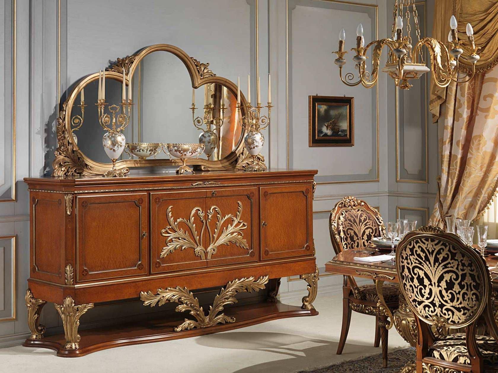 Credenza in stile Luigi XVI / in legno - VERSAILLES - VIMERCATI MEDA ...