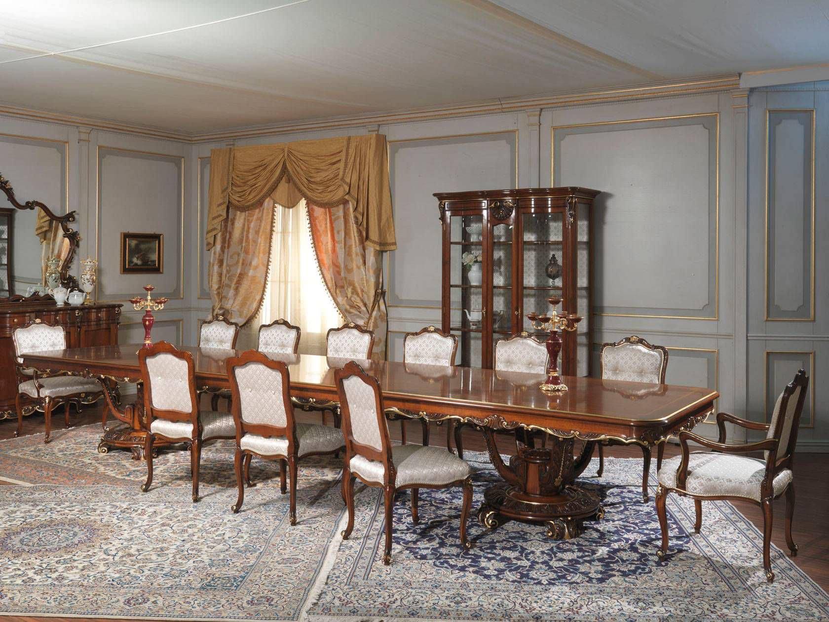 Tavolo in stile Luigi XV / in legno / rettangolare - LOUIS XV ...