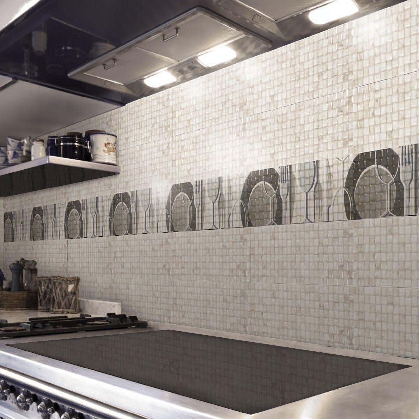 Piastrella da interno / da cucina / da parete / in ceramica - CANDY ...