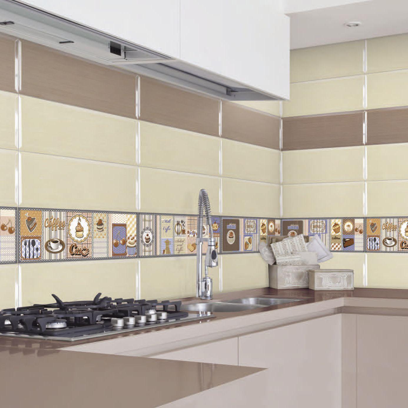 Piastrella da cucina / da parete / in ceramica / 20x60 cm - ETERNA ...