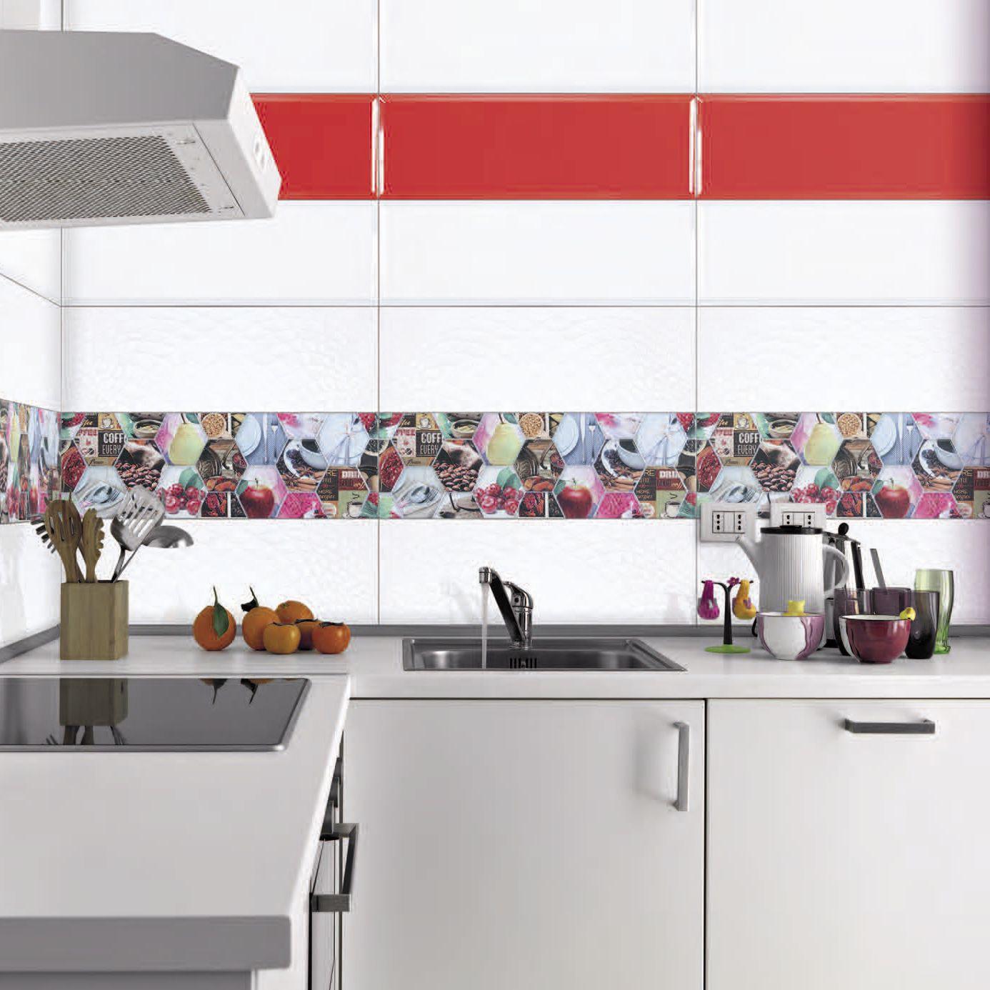 Piastrella da bagno / da cucina / da parete / in ceramica - LINK ...
