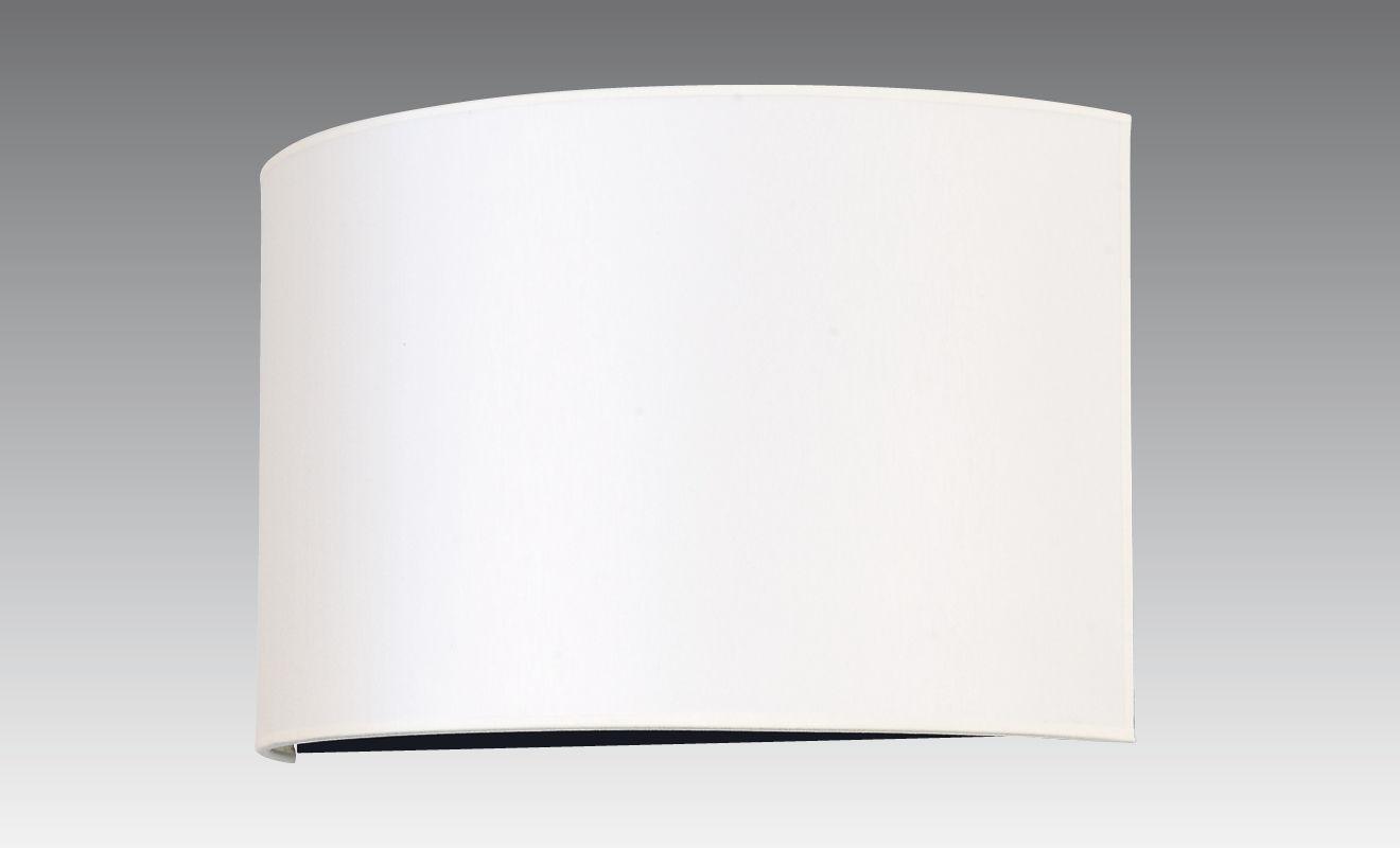 Applique moderna in tessuto led curva abousir stéphane