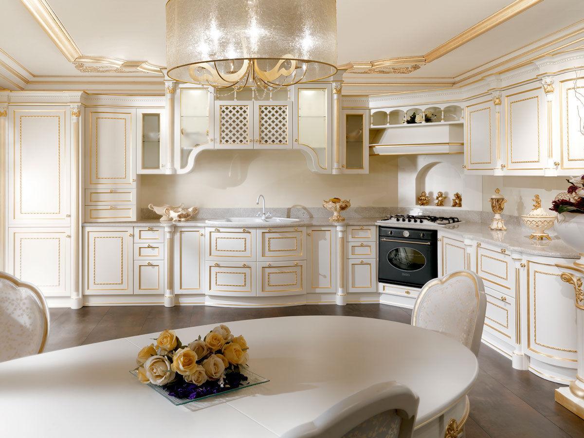 Cucina in stile / in legno / laccata - CAPRICE - Onlywood SRL