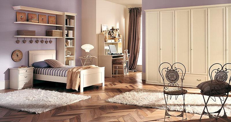 Letto standard singolo classico in legno dea homes