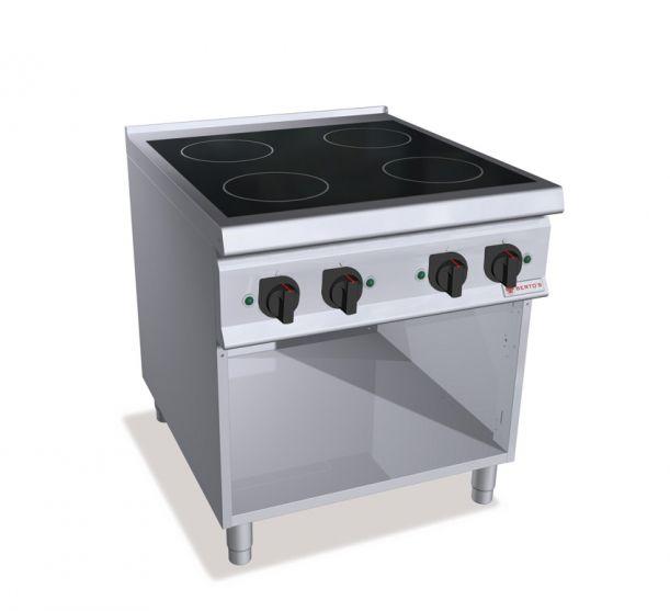 blocco cucina elettrico / a induzione / per uso professionale ... - Induzione Cucina