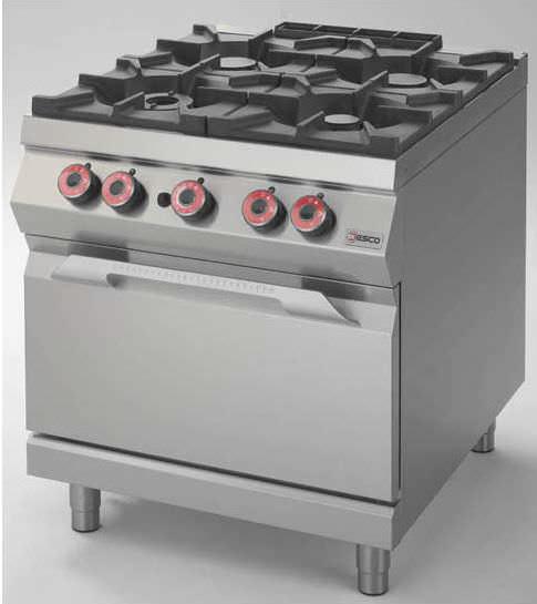 Blocco cucina a gas / professionale / in acciaio inox - FAG92M00 ...