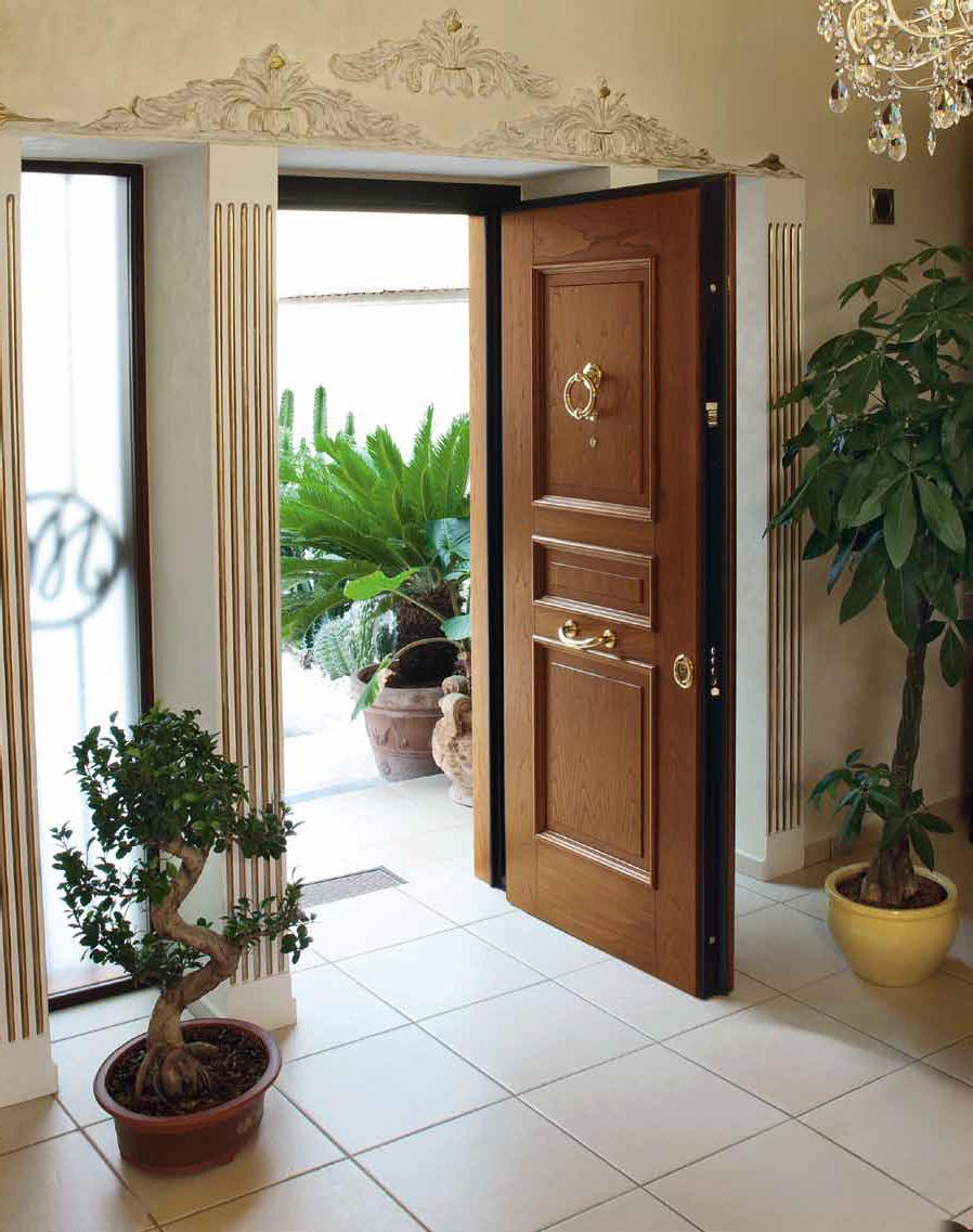 porta d'ingresso / battente / in legno / in alluminio - evolution ... - Porta Dingresso In Legno Massello