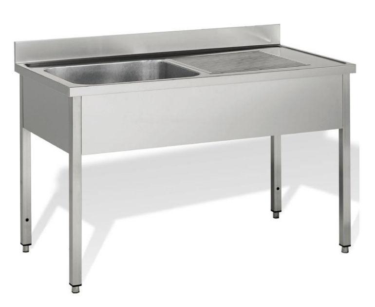 Mobile lavello su piedistallo per cucina professionale   60 line ...